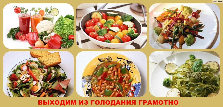 Выход из голода: подсказки, рекомендации, питание.