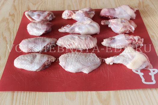 Куриные крылышки Буффало