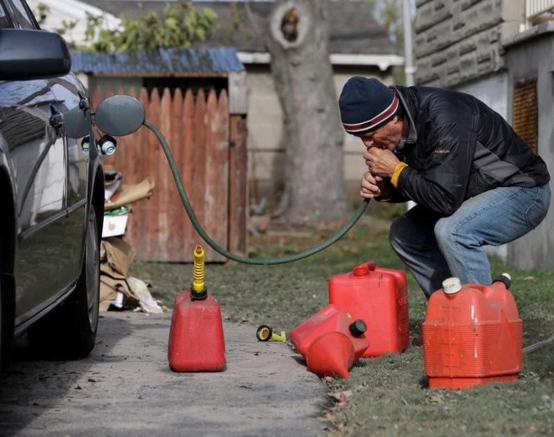Вред бензина