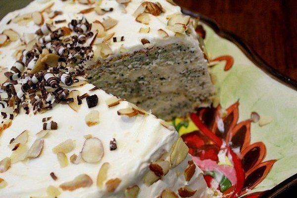 Как приготовить лёгкий торт на кефире: ингредиенты, приготовление.