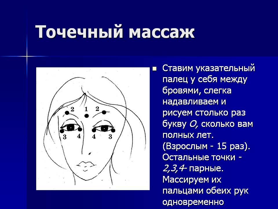 Точечный массаж: воздействие, основные точки, массаж с медом.