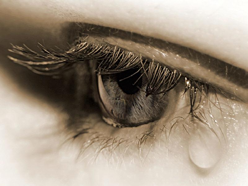 слезы человека