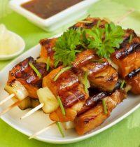 Шашлык из рыбы: приготовление, соус к рыбным блюдам.