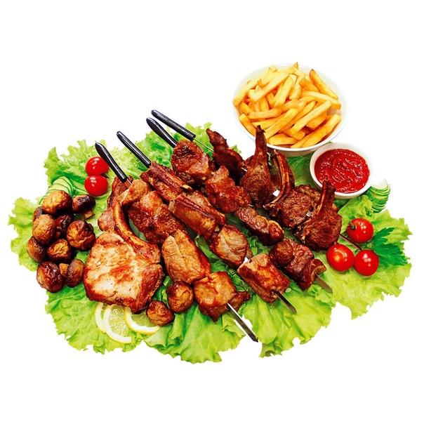 шашлык с мясом